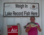 Record White Bass on Lake Texoma