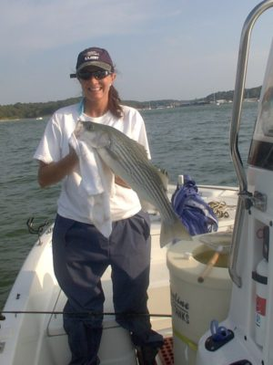 Striper Man Gerald Costner