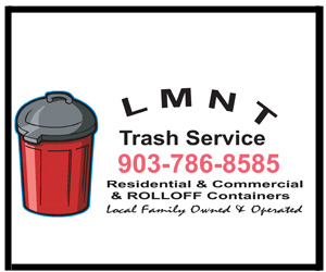 LMNT Trash Service Advertisement