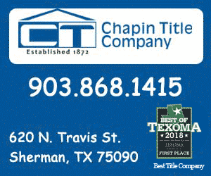 Chapin Title Company Best of Texoma 2018