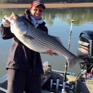 Capt. Steve Barnes Lake Texoma Striper Fishing Guide