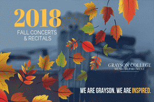 Grayson College Fall Concert