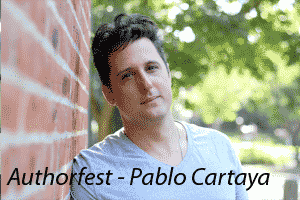 Authorfest Pablo Cartaya