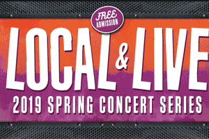 Local and Live Spring Concert Series