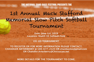 Mack Stafford Softball Tournament
