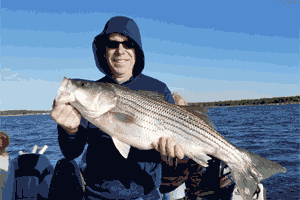 Lake Texoma Fishing Report from Captain Steve Barnes