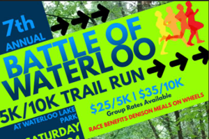 Battle of Waterloo 58/10 Trail Run